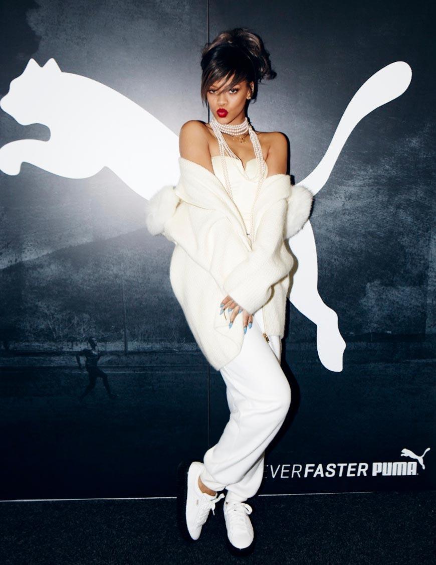 Speváčka Rihanna sa od januára 2015 stane globálnou veľvyslankyňou značky PUMA