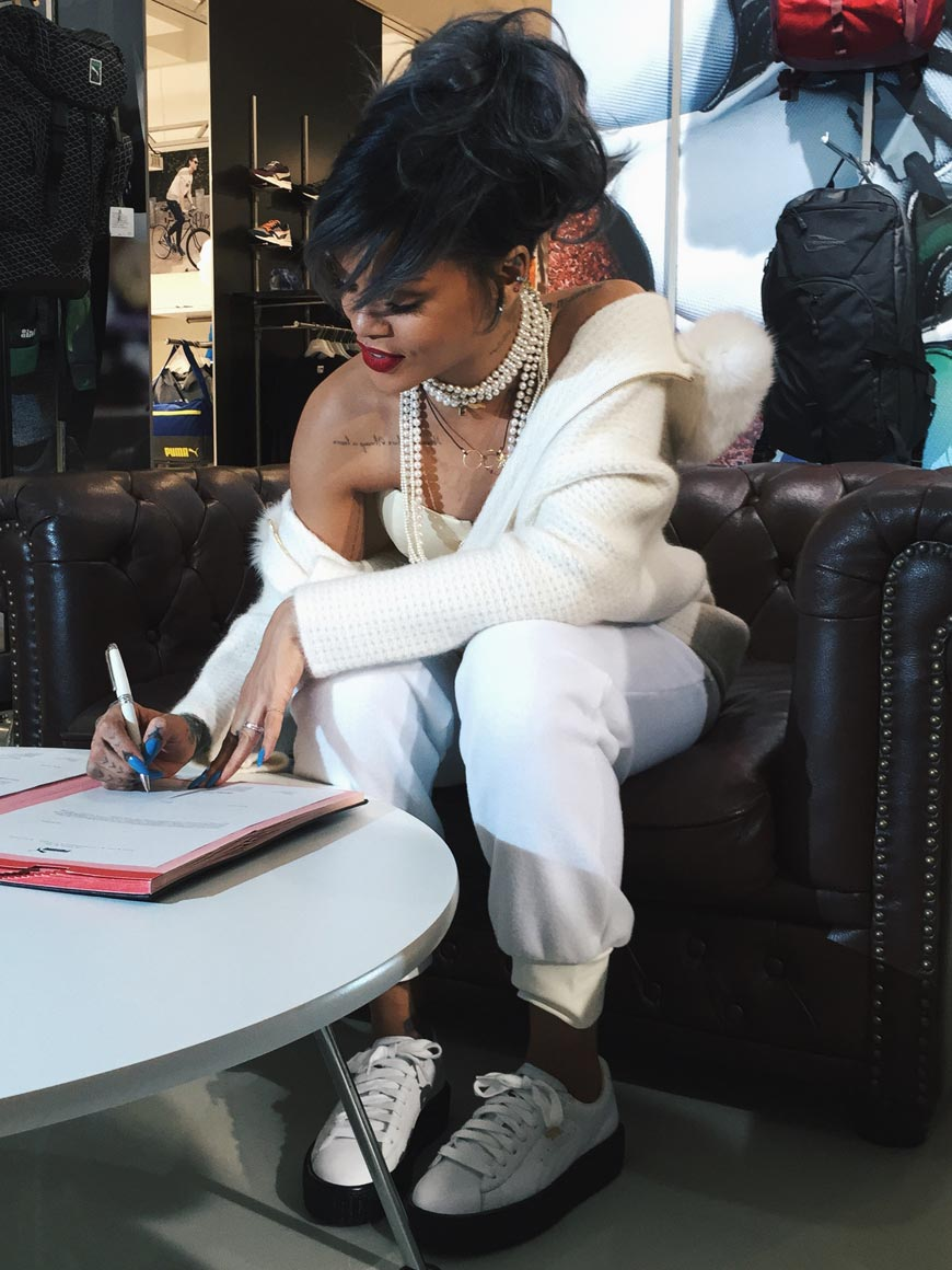 PUMA a svetová popová ikona Rihanna
