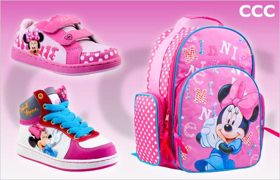 Kolekcia pre mladé slečny s motívom postavičky Minnie z rozprávok Walta Disneyho