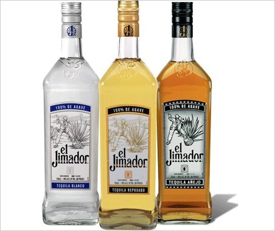 Fľaše tequily el Jimador
