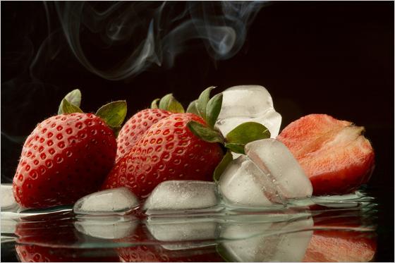 Jahody s ľadom