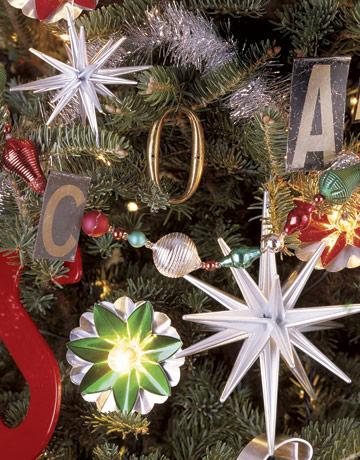 Detail vianočného stromčeka