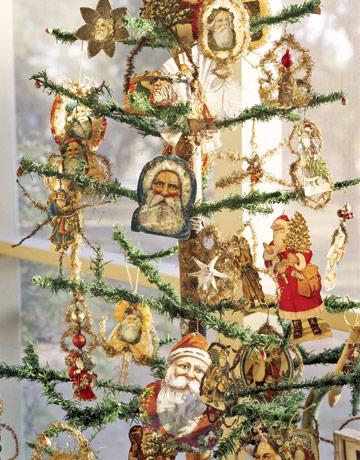 Vianočný stromček s náboženským motívom