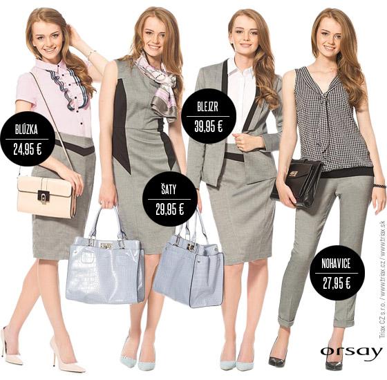 1da0b7379436 Z novej kolekcie biznis oblečenia Orsay vytvoríte nespočetné množstvo  kombinácií. Teraz sa spolu ale pozrieme na tie najpodarenejšie.