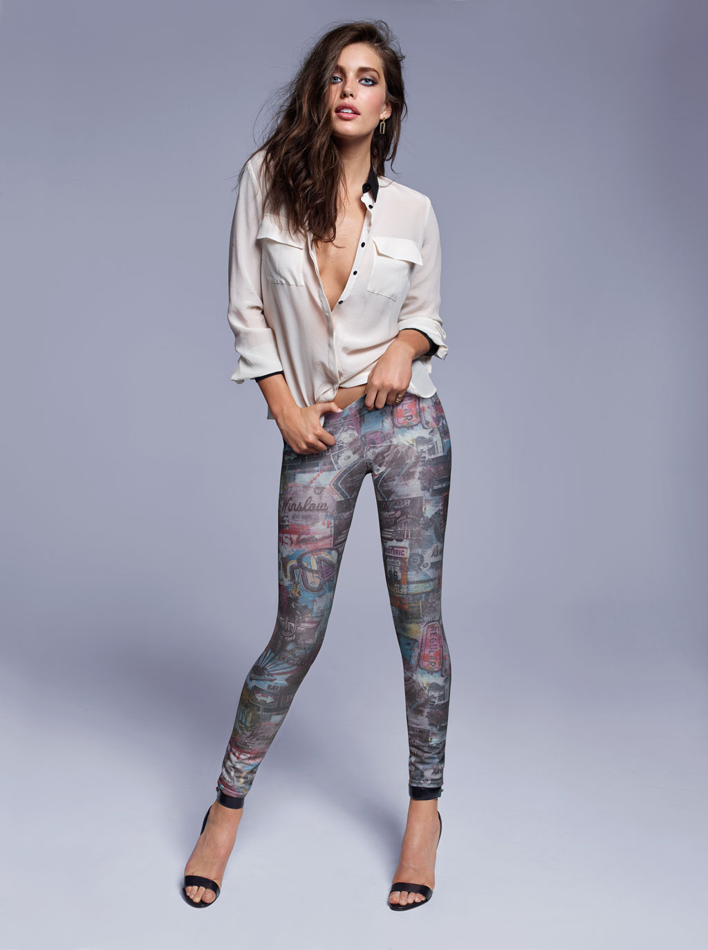 384acebf9f Legíny Calzedonia – vyzerajú ako džínsy s módnymi dierami aj zdobením!