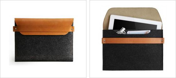 Pokiaľ ste majiteľom iPadu tak ho tiež môžete zabaliť do obalu Mujjo