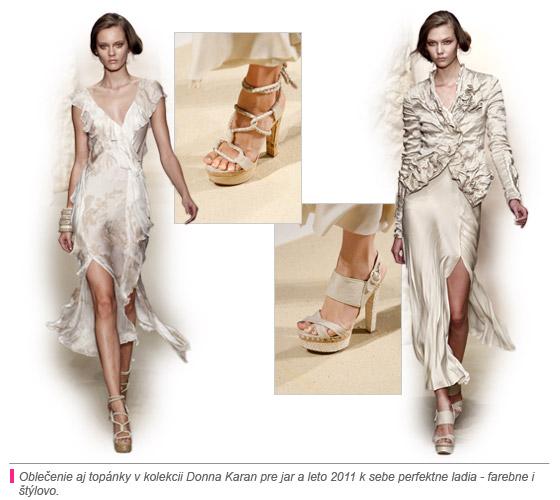zákazníkom ponúkne štýl zvodný i moderný. Modely topánok návrhárky Donny  Karan predstavujú zaujímavé dizajny 555f994ae68