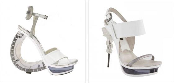 cefd6c2e0c2d7 Pozrite sa tiež na staršie fascinujúce modely topánok z kolekcií Gianfranco  Ferré