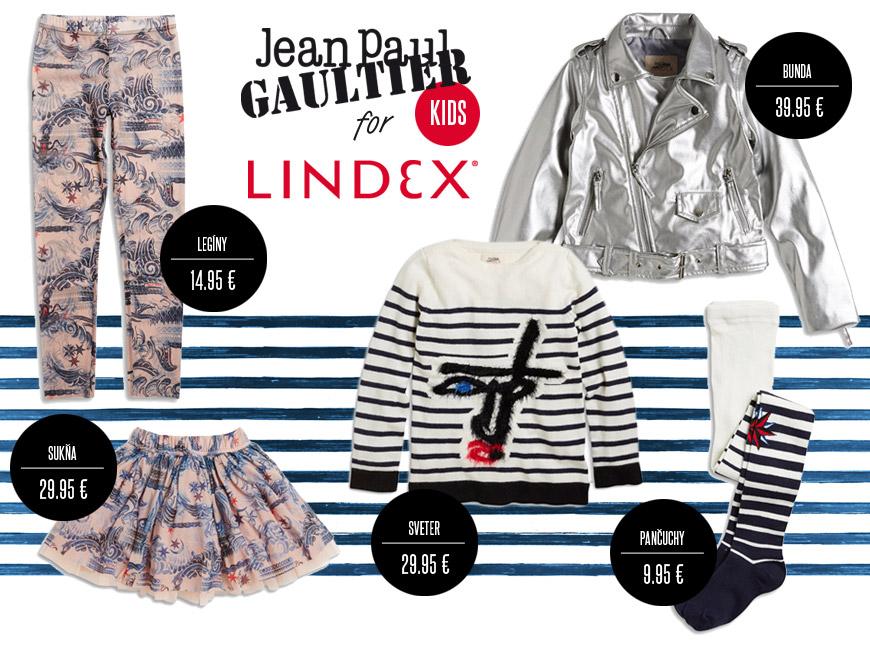 Detská móda Jean Paul Gaultier x Lindex