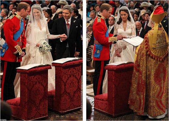 Svadobný obrad princa Williama a Kate