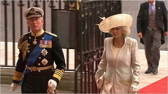 Princ Charles otec princa Williama a jeho druhá manželka Camilla ParkerBowles vojvodkyňa z Cornwallu