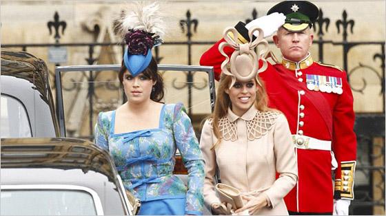 Princezné Eugenie a Beatrice