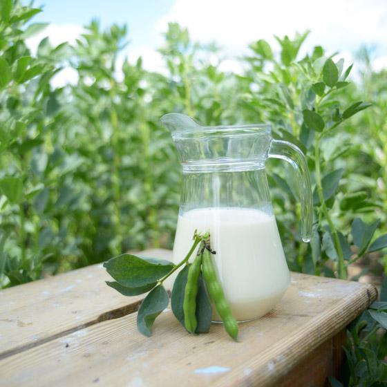 Džbán so sójovým mliekom