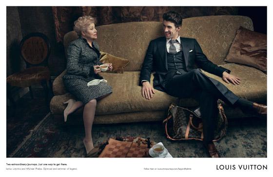 Značka Louis Vuitton sa postarala o výnimočné stretnutie dvoch športových legiend Michaela Phelpsa a Larisy Latynina