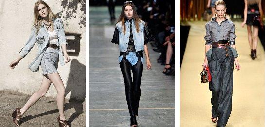 Dámske džínsové outfity