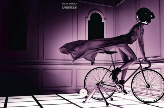 Olympijský rok inšpiroval aj taliansky Vogue. Fotky tentokrát fotil Francesco Carrozzini.