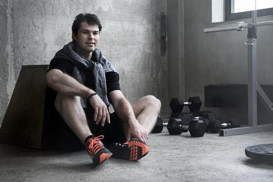 Tvárou kolekcie oblečenia a obuvi Reebok RealFlex je hokejista Jaromír Jágr