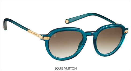 Model dámskych slnečných okuliarov Louis Vuitton