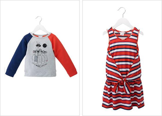 Hravosť je v kolekcii oblečenia pre deti Little Marc Jacobs vidieť na každom kúsku