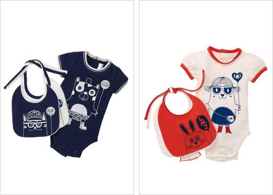 Kúsky z kolekcie pre najmenších ľahko doladíte s oblečením pre staršie dieťa do rovnakého designu