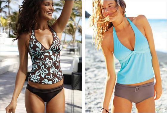 9c902799c K niektorým plavkám si môžete rovno vybrať aj plážové oblečenie, napríklad  v podobe sukienok, ktoré vám pomôžu zakryť menšie aj väčšie nedostatky a  navyše ...