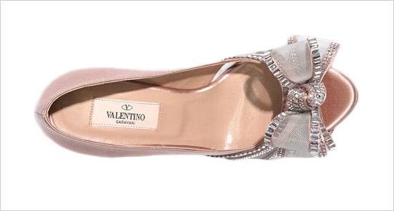 ddc6c6b495de Valentino črievičky zdobené Swarovski kryštálmi Valentino črievičky zdobené  Swarovski kryštálmi
