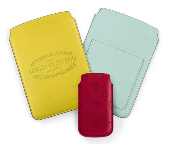 Ultra tenké iPad a iPhone púzdra Louis Vuitton dokonale obopínajú telefón  alebo tablet be009fb9642