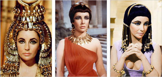 Elizabeth Taylor ako Kleopatra