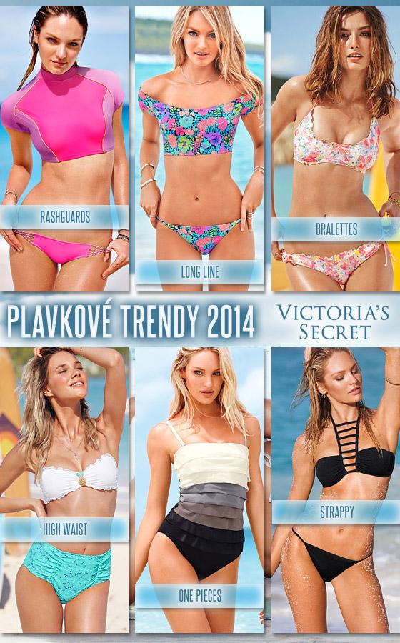 Plavky Victoria`s Secret pre rok 2014