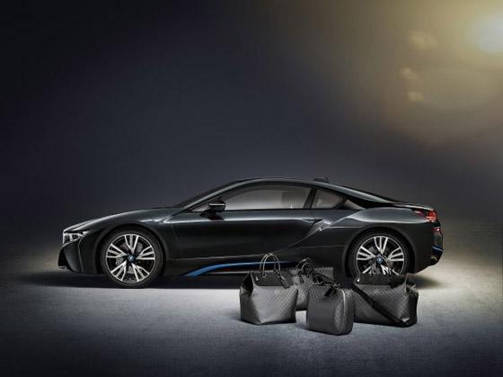 Louis Vuitton vytvoril na mieru šitú batožinu pre BMW i8