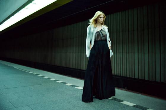 efb8aa14a Aktuálnu kolekciu Ivany Mentlovej odprezentovali s úspechom v rámci Dreft  Fashion Weeku na svojej prvej prehliadke na tuzemskej scéne.