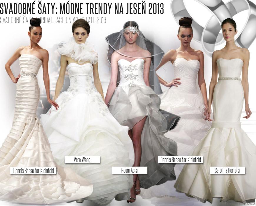 d8c716f155bd Svadobné šaty z Bridal Fashion Week Fall 2013