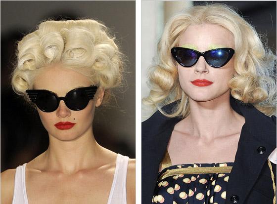 4e0962db5 ... Slnečné okuliare mačacích tvarov Christian Dior Giles Jeremy Scott Giles