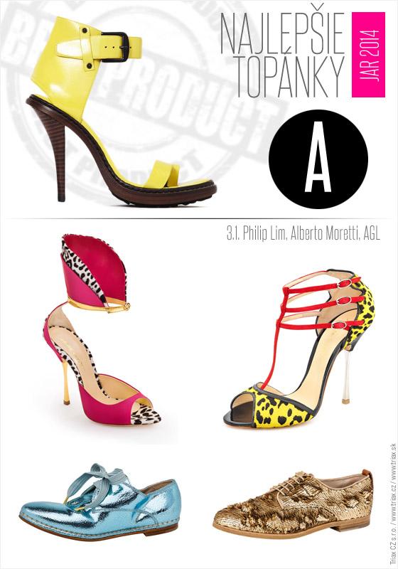 Topánky pre jar a leto 2014 od top svetových značiek 31 Philip Lim Alberto Moretti AGL