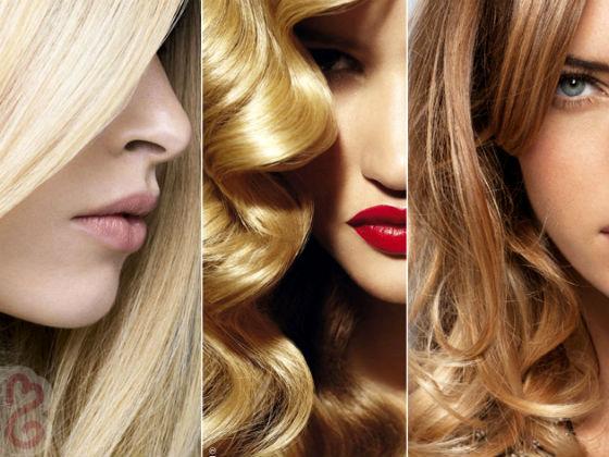 Blond farba má mnoho typov