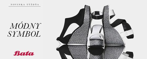 0784887e4ce7 Tromi novými kúskami úžasných čiernobielych dámskych sandálov sa teraz pýši  Baťa. Fazónou podobné topánky majú klinový wedge opätok a tiež platformu.