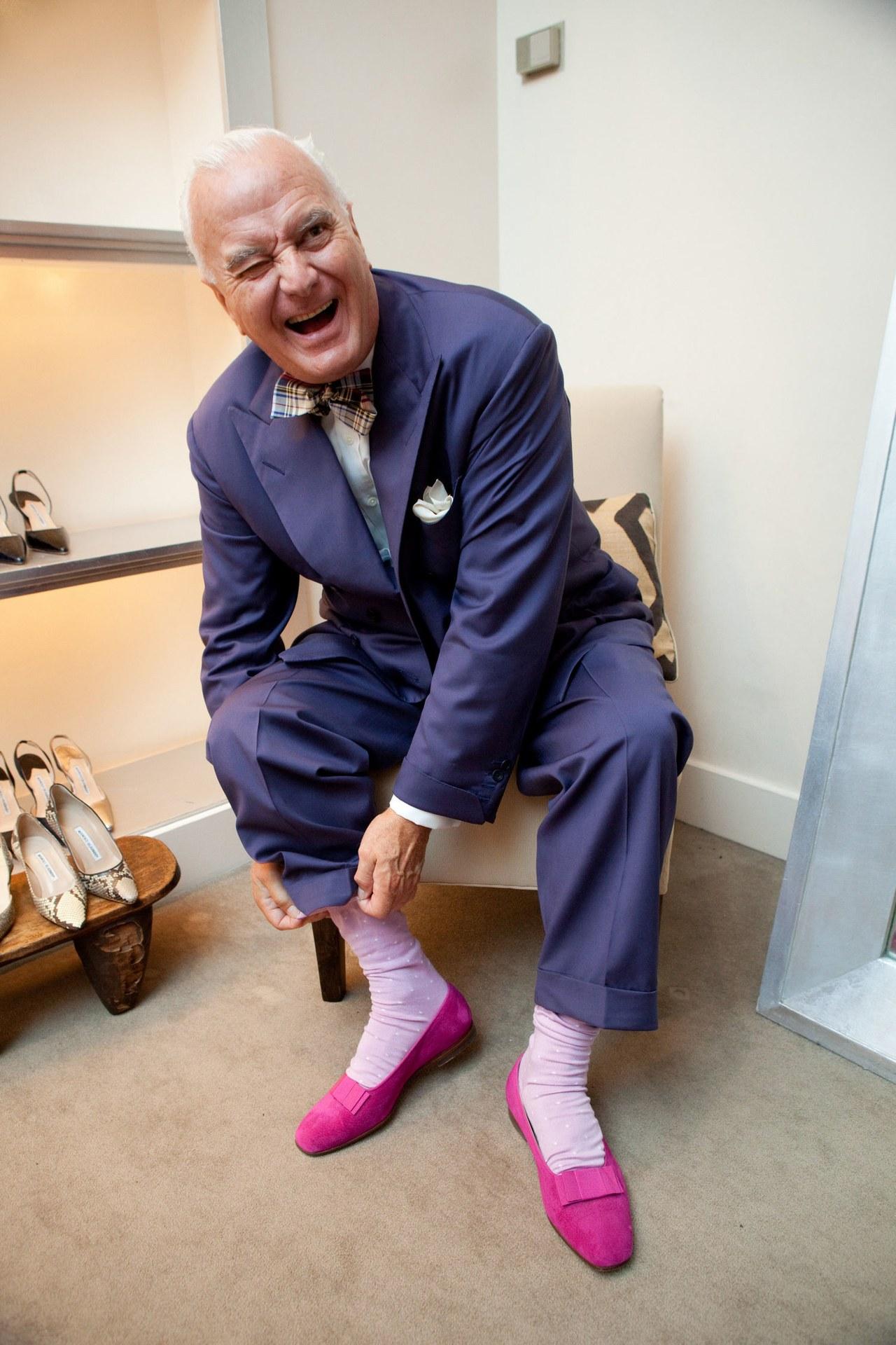 Manolo Blahnik – génius ženských topánok