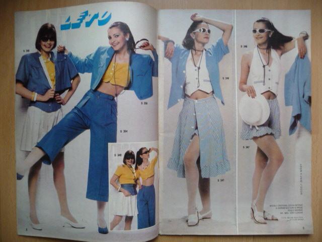 Letná móda v roku 1989