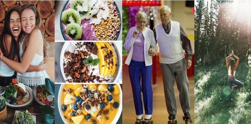 ukážka ako zdravý životný štýl prospieva človeku v každom veku
