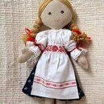 Vyrobte si vlastnú handrovú bábiku