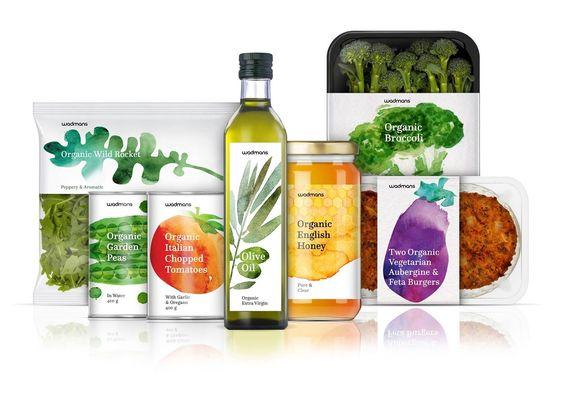 ukážka organických produktov, ktoré sú prospešné pre zdravie človeka