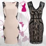 Orsay šaty v štýle malých čiernych vás oblečú na večierky aj do práce!