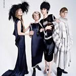 Lanvin predstavuje (ne)normálnu rodinku modelky Edie Campbell