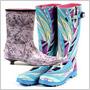 Štýlové topánky do dažďa – nebojte sa gumovej obuvi!
