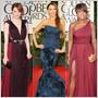 Golden Globes žiarili farbami drahokamov: nie však na šperkoch, ale na šatách!