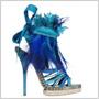 Christian Dior predstavuje farebnú plejádu obuvi na jar a leto 2011 ozdobenú povrázkami i perím