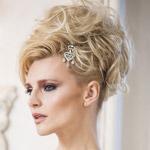 Svadobný účes pre blondínku – jedna žena 3x inak!