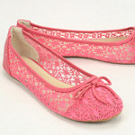 Balerínky z Danea stavili na pre topánky tento rok módnu čipku, perforáciu a sieťovanie!