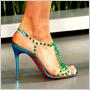 Louboutin navrhol topánky pre kolekciu Mary Katrantzou! ty pro kolekci Mary Katrantzou!