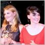 Radka Hortová a Tereza Mašlaňová predstavili na Slovak Fashion Night 2013 módnu kolekciu Newintage!